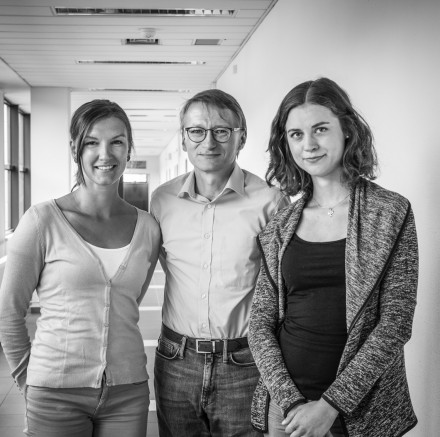 Bc. Kateřina Chudá, Mgr. Lenka Kramná, Ph.D., prof. MUDr. Ondřej Cinek, Ph.D.